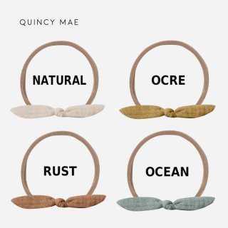 【割引クーポン対象商品】 Quincy Mae | Little Knot Headband | BABY FREE