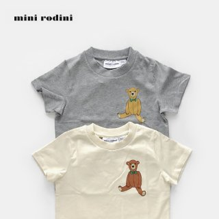 <img class='new_mark_img1' src='//img.shop-pro.jp/img/new/icons2.gif' style='border:none;display:inline;margin:0px;padding:0px;width:auto;' />mini rodini | TEDDY SP Tシャツ | (80/86)-(104/110)