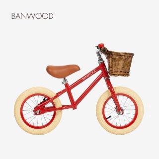 【お取り寄せ品】BANWOOD | バランスバイク  ( RED )