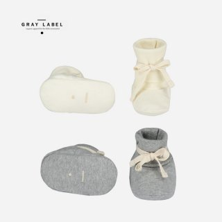 GRAY LABEL  | BABY RIB BED BOOTIES | BABY(6-12m)