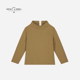 GRAY LABEL | HIGH NECK SWEATER | PEANUT (1-2y)-(5-6y)