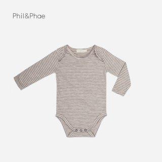 Phil&Phae | BODY STRIPES | straw | 6-12m