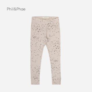 Phil&Phae | RIB LEGGINGS | straw |  6-12m-3y