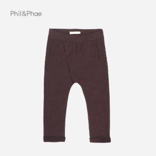 Phil&Phae | CROSS-OVER CHINO | cacao nib |  2y-6y