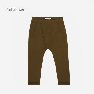 Phil&Phae | CROSS-OVER CHINO | moss |  2y-6y
