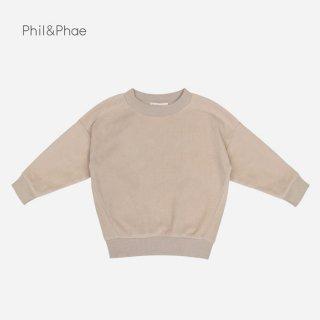 Phil&Phae | TEDDY OVERSIZED SWEATER | powder |  2y-6y