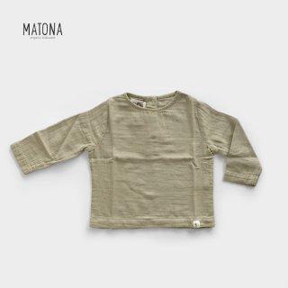 MATONA | OLIVE TOP | SESAME (1-2Y)-(5-6y)