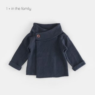 1+in the famiry | NURIA jacket / blue notte | 12m-36m