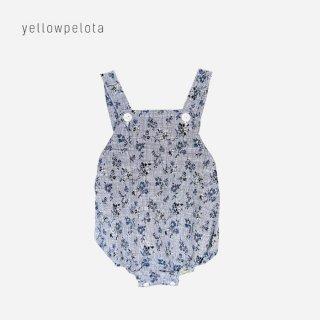 yellowpelota | Anemone romper | blue 6m-12m