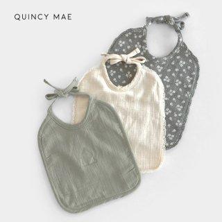 Quincy Mae | Woven Tie Bib
