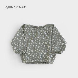 Quincy Mae | Cinch Longsleeve Tee | eucalyptus (6-12m)-(2-3y)