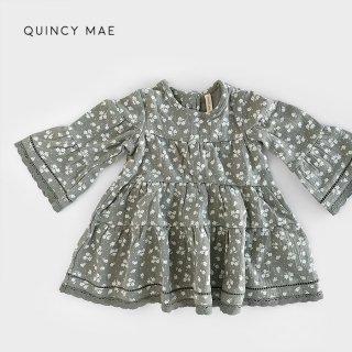 Quincy Mae | Rosie Dress | eucalyptus (12-18m)-(2-3y)