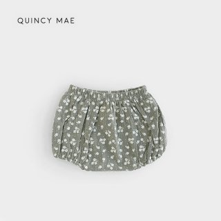 Quincy Mae | Woven Bloomer | eucalyptus (6-12m)-(2-3y)