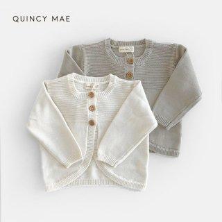 Quincy Mae |  Knit Cardigan (6-12m)-(18-24m)