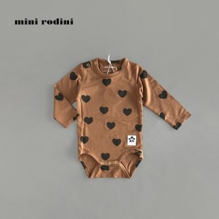 mini rodini | HEARTS LS BODY TENCEL (68/74)