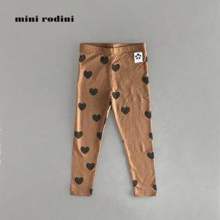 mini rodini | HEARTS LEGGINGS TENCEL  (80/86)-(116/122)
