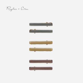 Rylee+Cru | slider clip pack (periwinkle/goldenrod/wine)