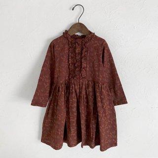 Omibia | ESTELLA Dress | Earth Print | 3y-6y