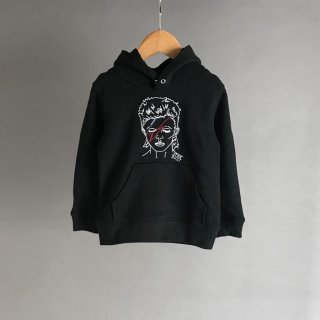 <img class='new_mark_img1' src='//img.shop-pro.jp/img/new/icons14.gif' style='border:none;display:inline;margin:0px;padding:0px;width:auto;' />Soulsmania | STAR DUST SWEAT PARKA  | BLACK | 100-130