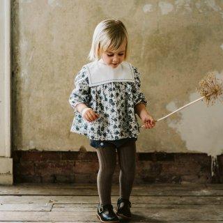 Little Cotton Clothes | Eadie sailor collar blouse | (2-3y)-(6-7y)