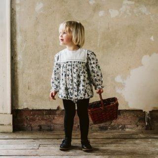Little Cotton Clothes | Maeve sailor collar romper | (6-12m)-(18-24m)