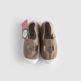 CIENTA | Tストラップ | Beige Dyed  14-20センチ