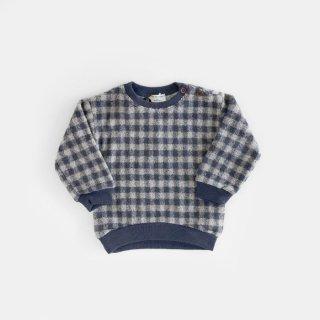 1+in the famiry | ARINSAL sweatshirt | BEIGE/BLUENOTE | 9m-36m