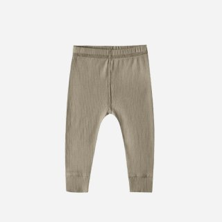 Quincy Mae | RIbbed Legging | OLIVE (6-12m)-(12-18m)