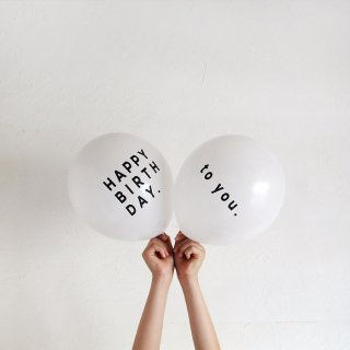 <img class='new_mark_img1' src='https://img.shop-pro.jp/img/new/icons14.gif' style='border:none;display:inline;margin:0px;padding:0px;width:auto;' />Balloon | HAPPY BRITH DAY ハッピーバースデー  | BLACK