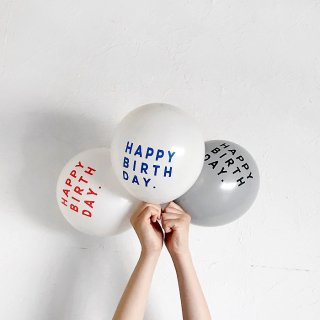 <img class='new_mark_img1' src='https://img.shop-pro.jp/img/new/icons14.gif' style='border:none;display:inline;margin:0px;padding:0px;width:auto;' />Balloon | HAPPY BRITH DAY ハッピーバースデー  | COLOR