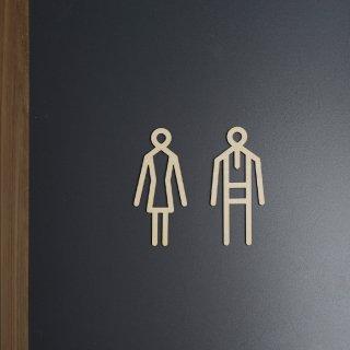 <img class='new_mark_img1' src='https://img.shop-pro.jp/img/new/icons8.gif' style='border:none;display:inline;margin:0px;padding:0px;width:auto;' />Sukima | toilet sign / トイレサイン