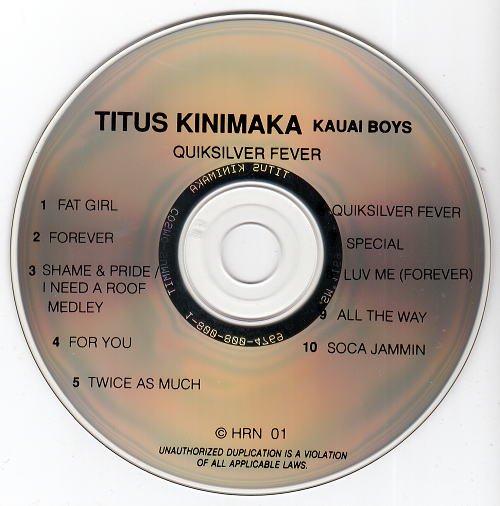 Titus Kinimaka & The Kauai Boys/Quicksilver Fever - Jay