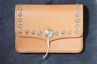 L-040B Clutch Bag(Natural)