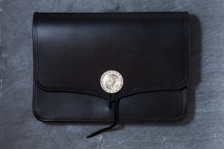 L-039A Clutch Bag (Black)