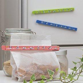 冷蔵庫にピタッと!ロングフードクリップ 3本セット<br>表示価格は参考上代です。卸価格はお問い合わせください。