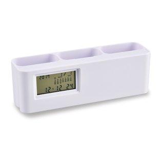 電卓付スタンドクロック<br>表示価格は参考上代です。卸価格はお問い合わせください。