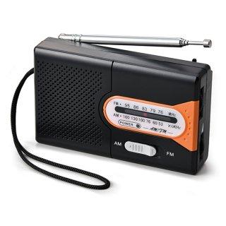 AM/FMポケットラジオ<br>表示価格は参考上代です。卸価格はお問い合わせください。