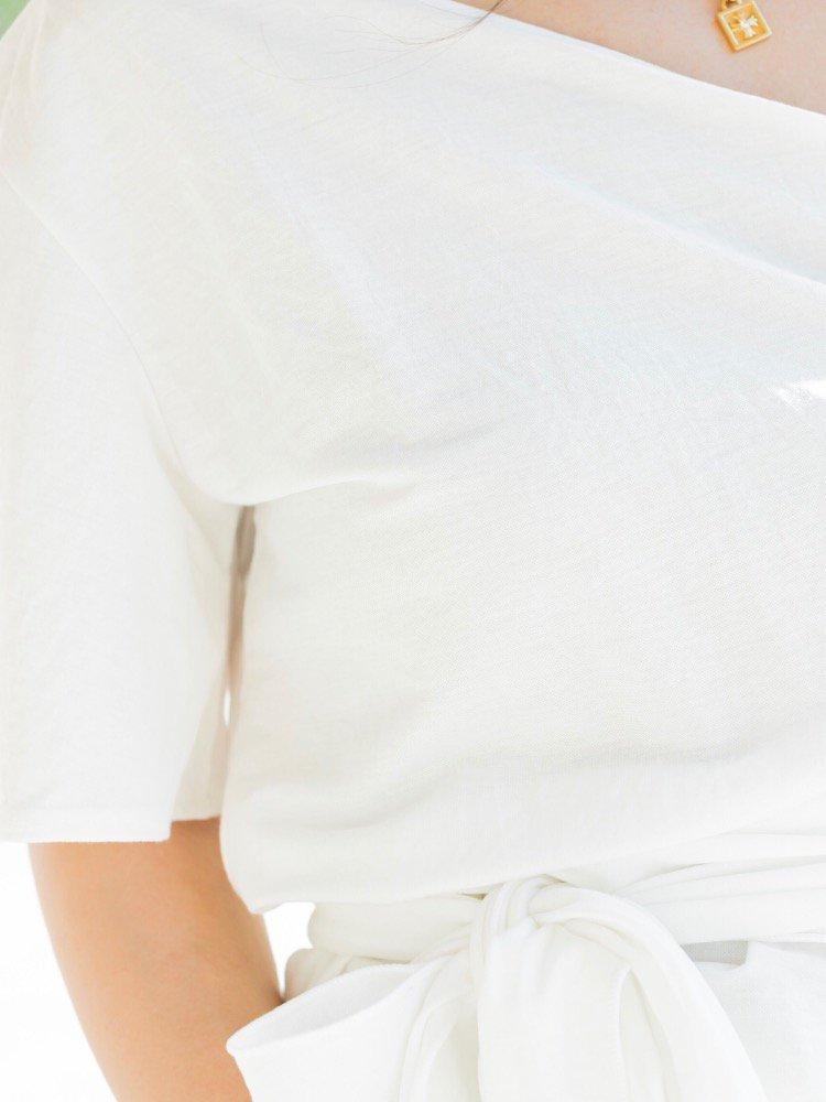 I love coeur pythons col en V T-shirt