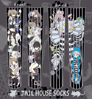 長谷川×PredatorRat「JAIL HOUSE SOCKS」(うしじまいい肉Presents)