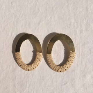 cresiconi PAZ EARRINGS Palm