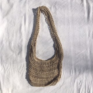 vintage akha hemp shoulder bag A