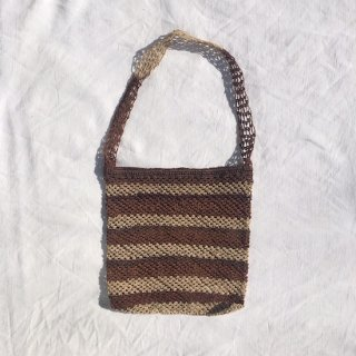 vintage akha hemp shoulder bag B