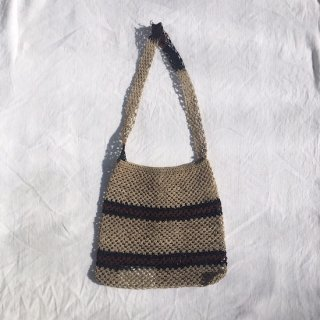 vintage akha hemp shoulder bag C
