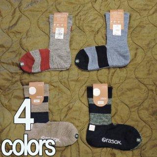 rasox ソックス L字型 メンズ レディース ソックス 靴下 4色 CA090CR10