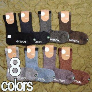 rasox BASIC series 靴下 メンズ レディース 日本製 8色 BA100CR17
