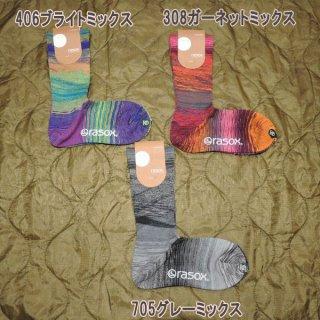 rasox ソックス L字型 メンズ レディース ソックス 靴下 CA170CR01