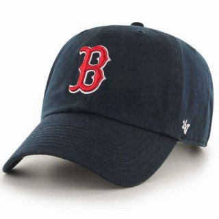 47brand RGW02GWS Redsox Home clean up cap