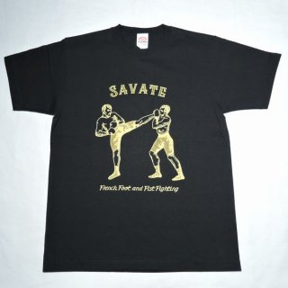 "Dry Bones PT-791 Print T-Shirt""SAVATE""ドライボーンズ プリントTシャツ 1950S 50S ロカビリー ビンテージ"