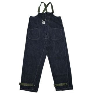 COLIMBO ZU-0202 OLD MIDSHIPMEN'S BIB OVERALL(PLAIN)/11.5oz コリンボ