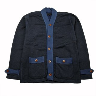 DAPPERS LOT1364 Classical Cotton/Wool Sweat Cardigan ダッパーズ スウェットカーディガン